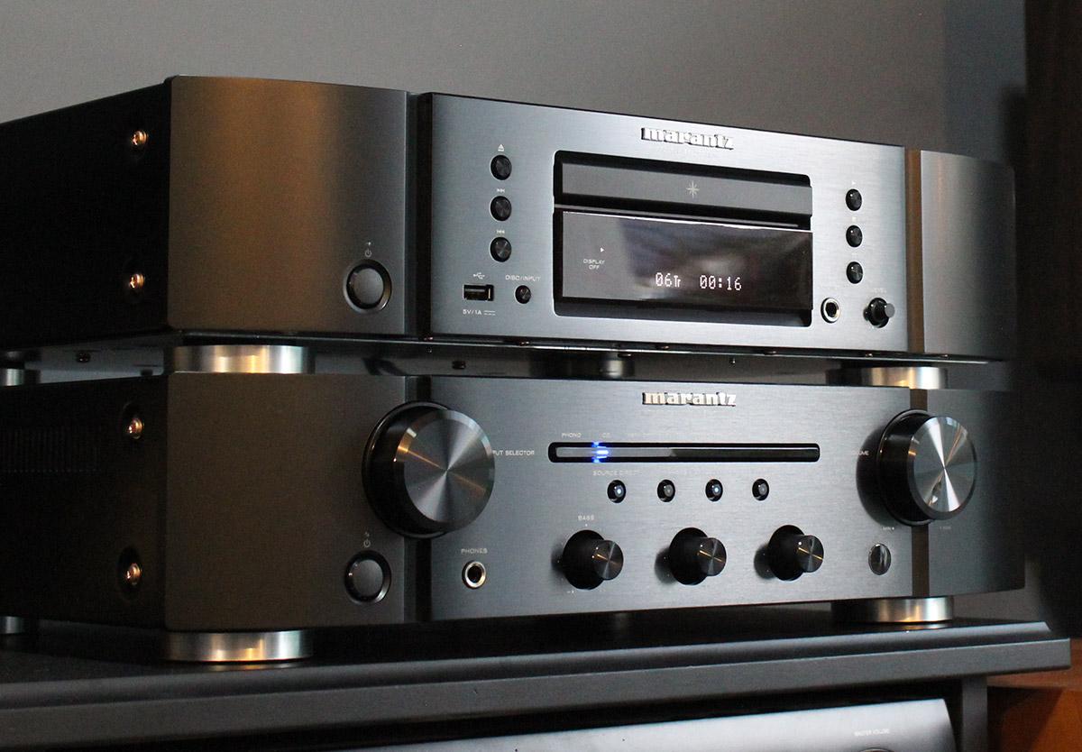 Review: Marantz PM6007 amplifier & Marantz CD6007 CD player -  Son-Vidéo.com: blog