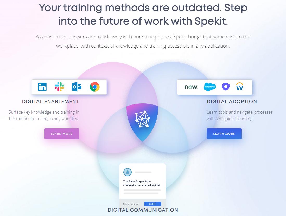spekit digital adoption platform