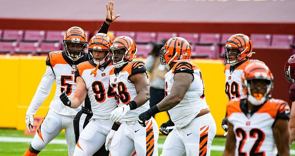 Các cầu thủ Cincinnati Bengals có thể nhìn thấy hình mẫu của Bengals