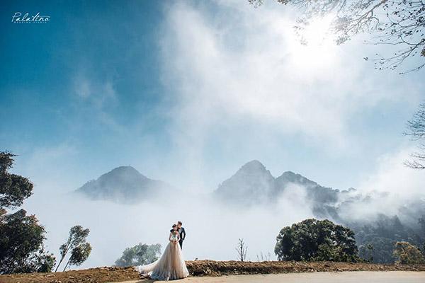 chụp ảnh cưới tam đảo