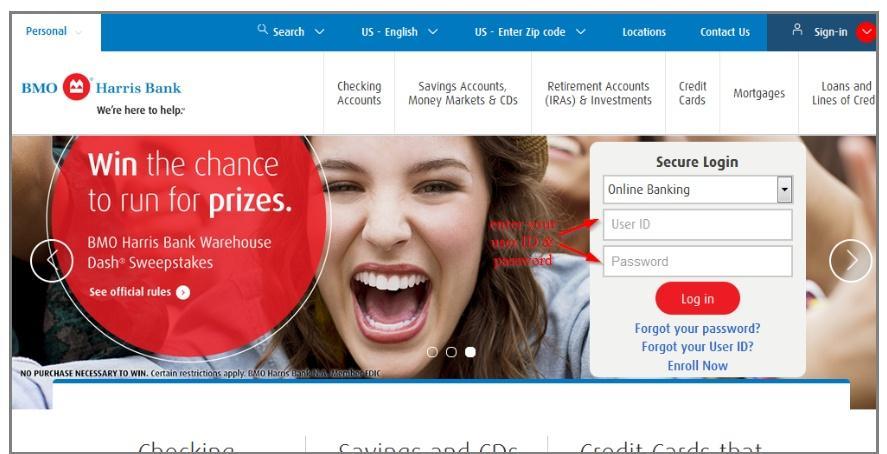 Bmo Harris Bank Online banking