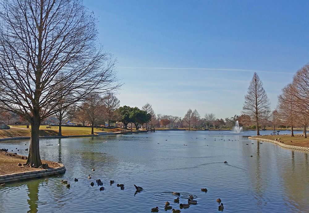 City Lake Park is great for fishing for Trouts and Catfish