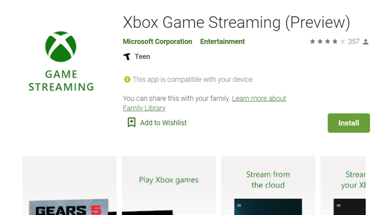 Xbox Console Streaming