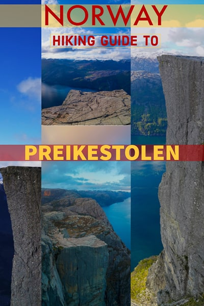 Full guide to hiking Preikestolen the amazing Pulpit rock in Norway everything you need to know