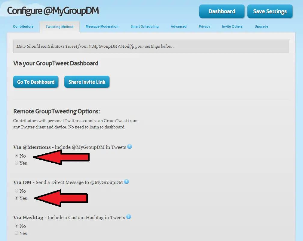 Grouptweet - auto retweet tools - TweetJumbo.com- twitter automation bot tool
