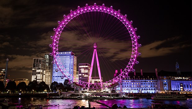 This tallest and fascinating cantilevered wheel can be found on the South Bank of the River Thames in London best nail Salon