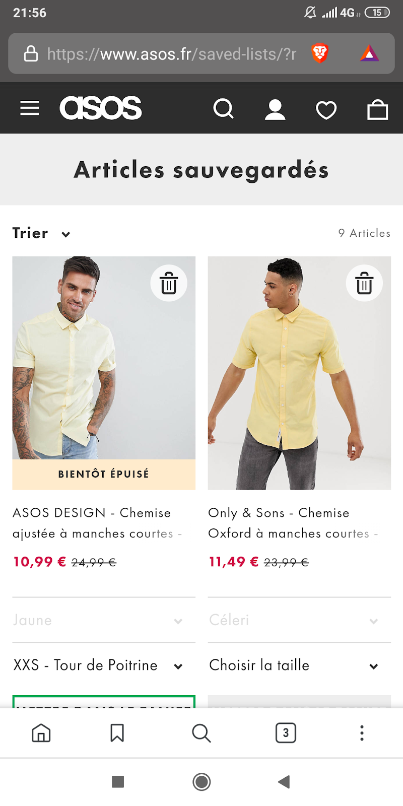 Asos Exemple