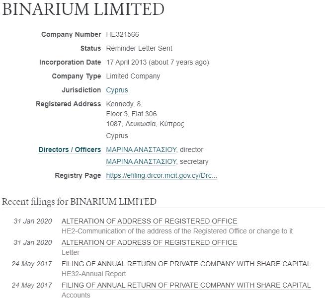 Брокер бинарных опционов Binarium: обзор, особенности, отзывы