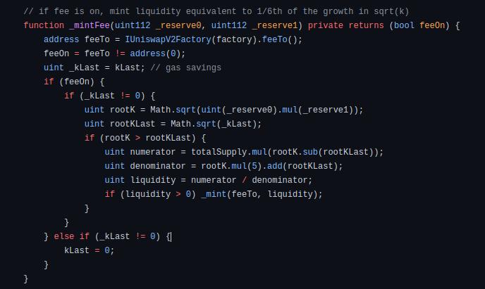 _mintfee code