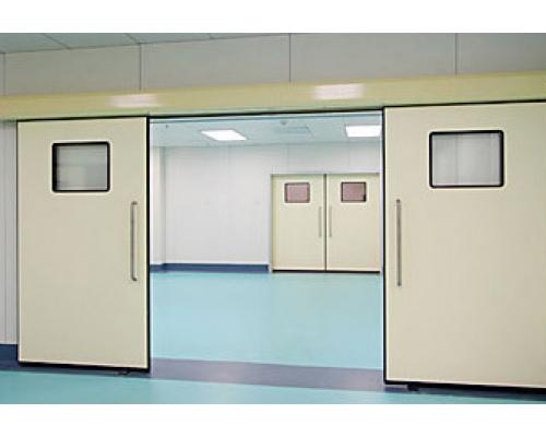 Cửa tự động bệnh viện thường được khiến cho bằng chất liệu inox