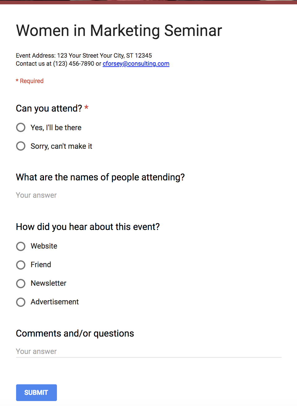 The Ultimate Guide To Google Forms