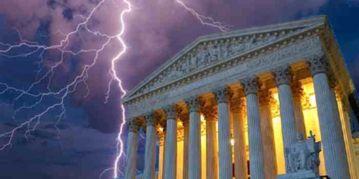 All it Took for Treason to Triumph was for the Supreme Court To Do Nothing!