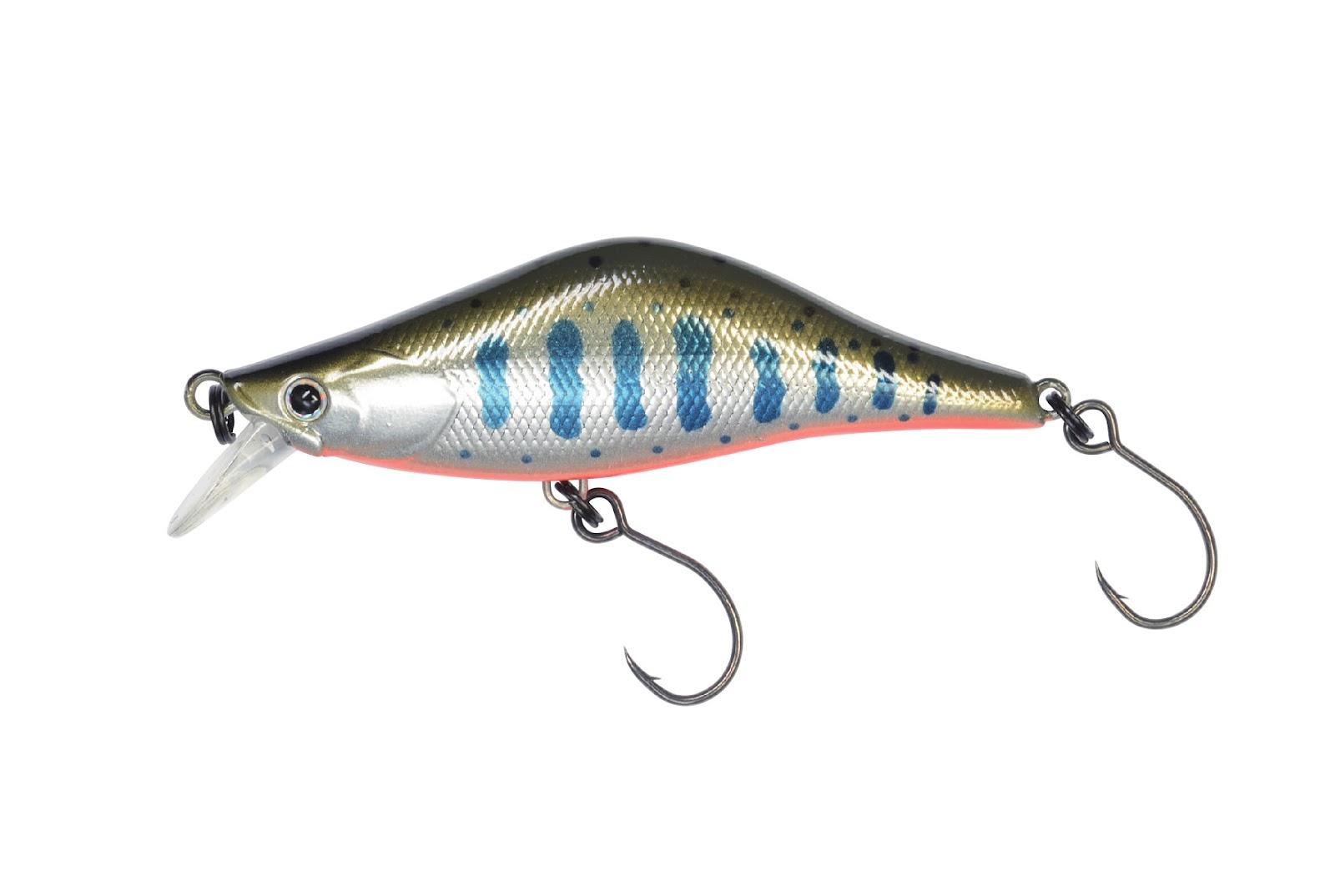 9)ラクス60Sで様々なアクションで魚を誘える!