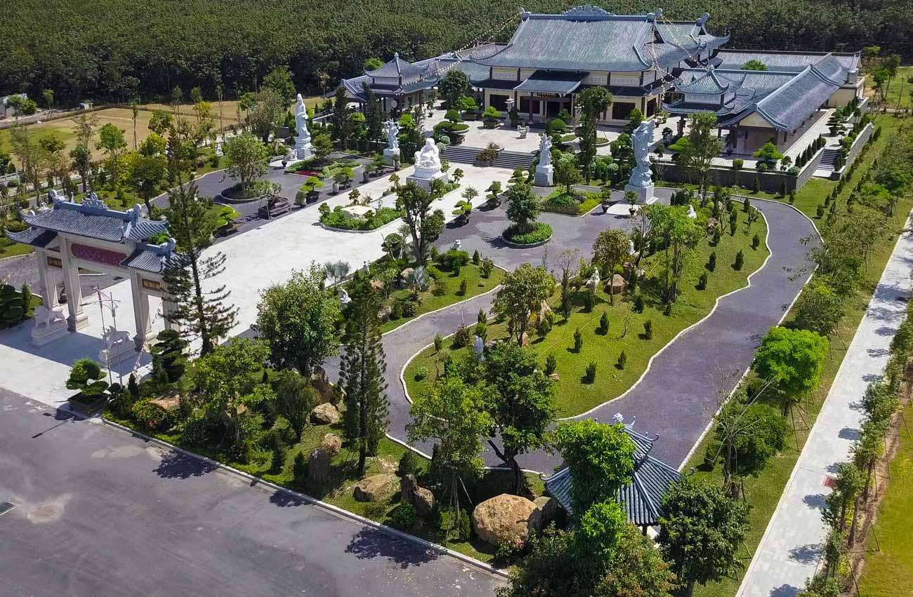 Thiền Viện Trúc Lâm Long Đức tại Công viên Vĩnh Hằng