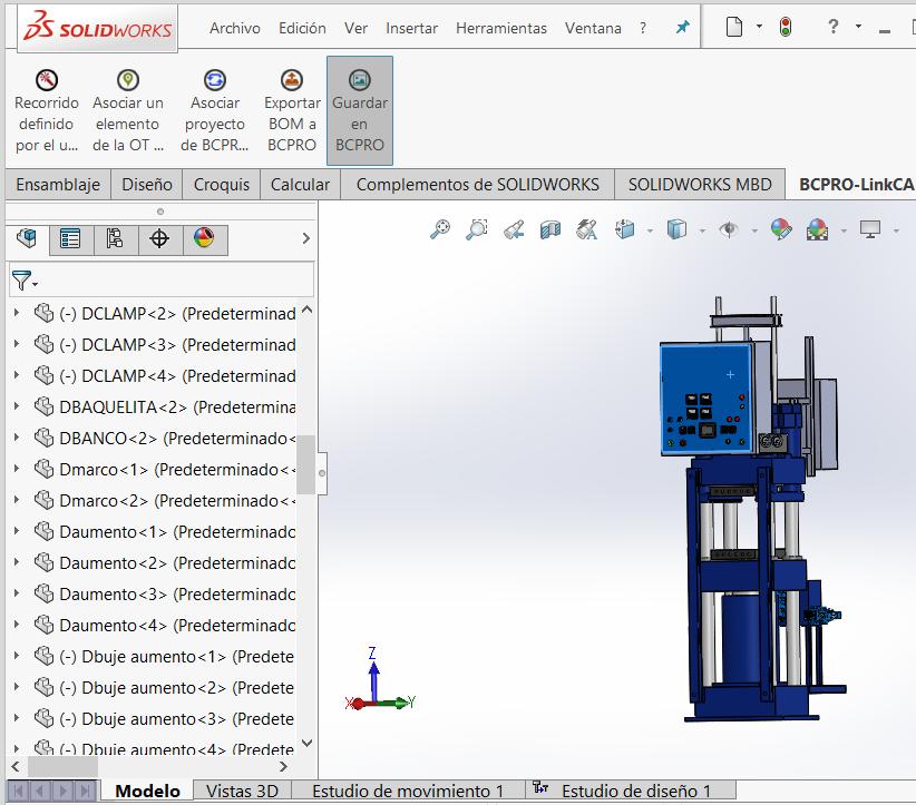 Programación en Velneo: integración de un ERP con CAD 15
