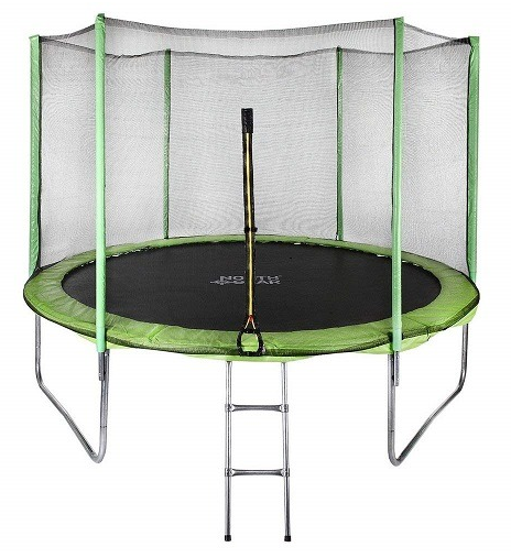 #3. North Gear 10Ft Trampoline with Enclosure