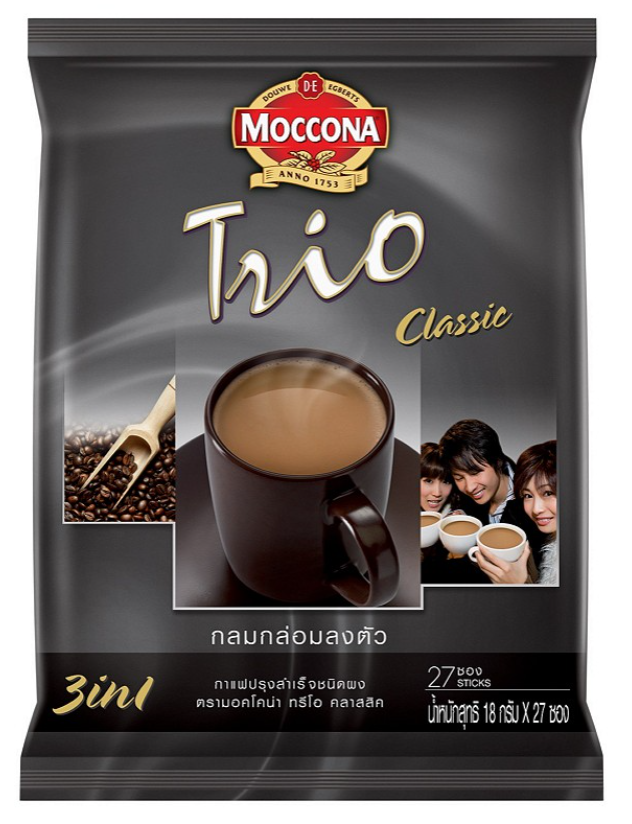 8. Moccona Trio Classic