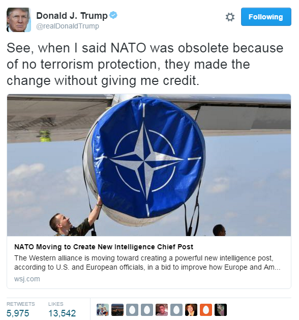 Image result for nato obsolete