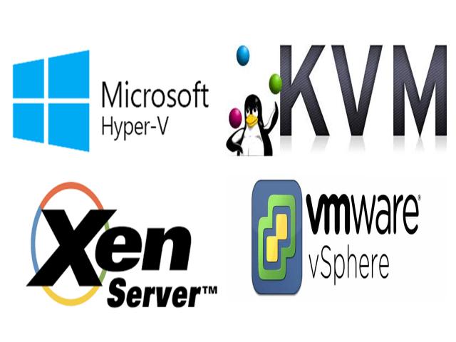 Fornecedores de Solução para Virtualização de Servidores