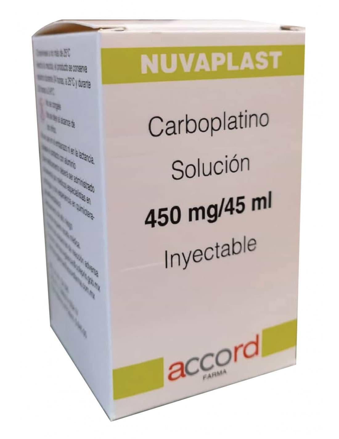 Carboplatino 450 mg al precio más conveniente