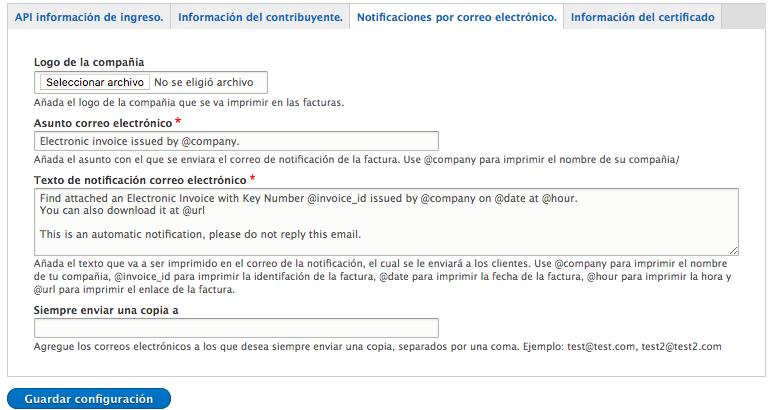 guía rápida para usar y configurar el módulo factura electrónica cr
