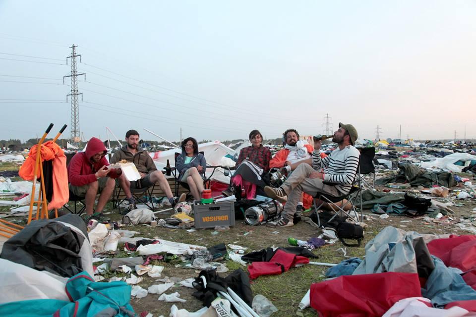 Basurama en el Roskilde Festival