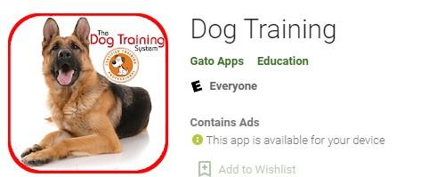 Dog Training App