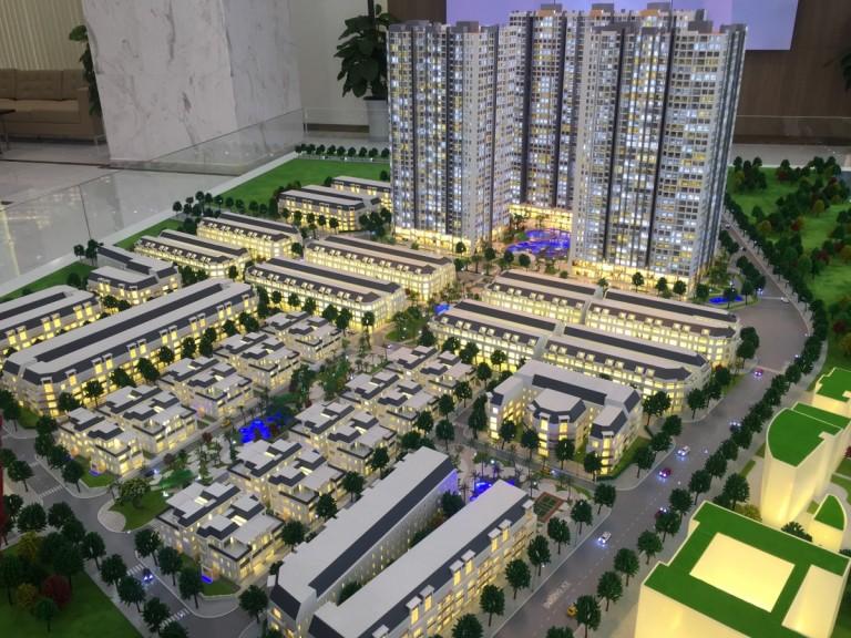 Mô hình chung cư và nhà ở