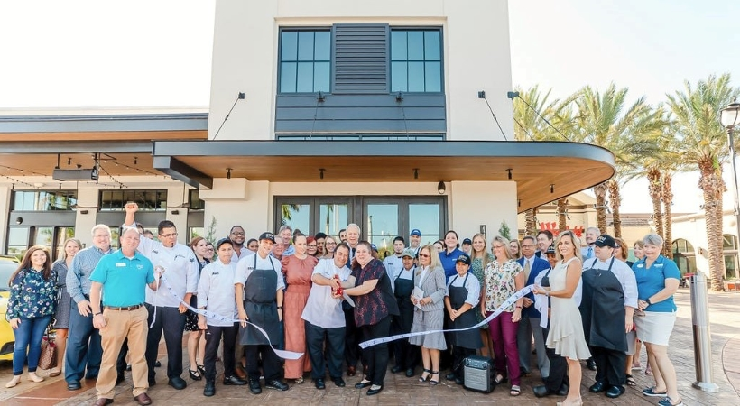 grand opening of a business in Sarasota