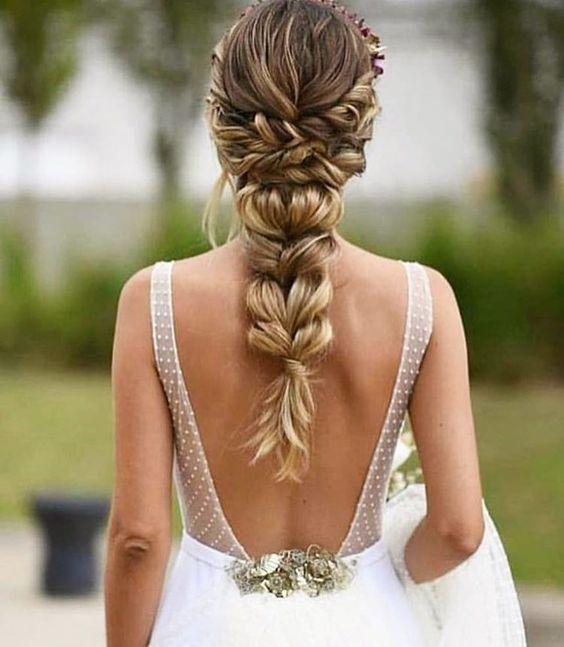 Tendencias de peinados para bodas 2020