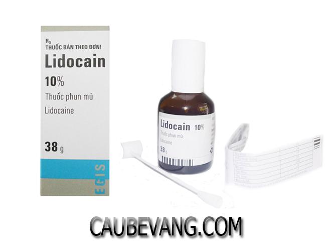Thuốc xịt chống xuất tinh sớm Lidocain 10%