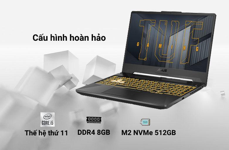 Laptop ASUS TUF Gaming FX506HC-HN002T 90NR0723-M01410 | Cấu hình vượt trội