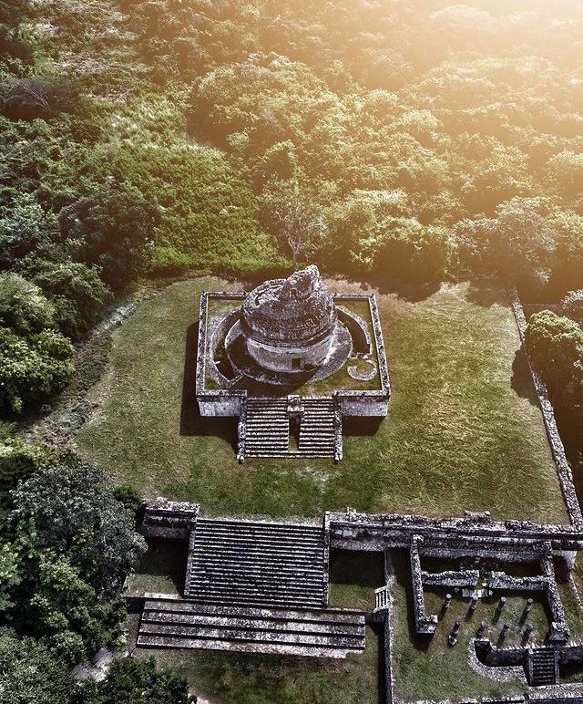 Observatorio caracol en chichen itzá