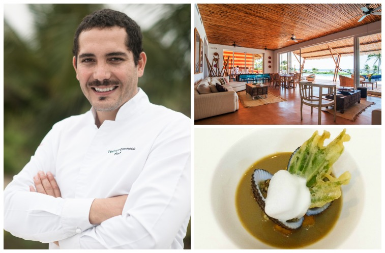 Rodrigo Pacheco, Bocavaldiva restaurant, Ecuadorian cuisine at Tanusas Retreat & Spa