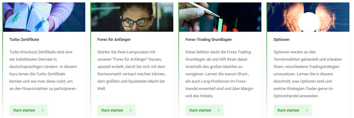 Trading Kurse. bei DailyFX