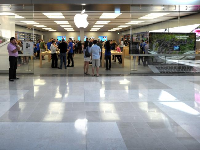 Apple confirmed it had fired staff from the Westfield Carindale store.