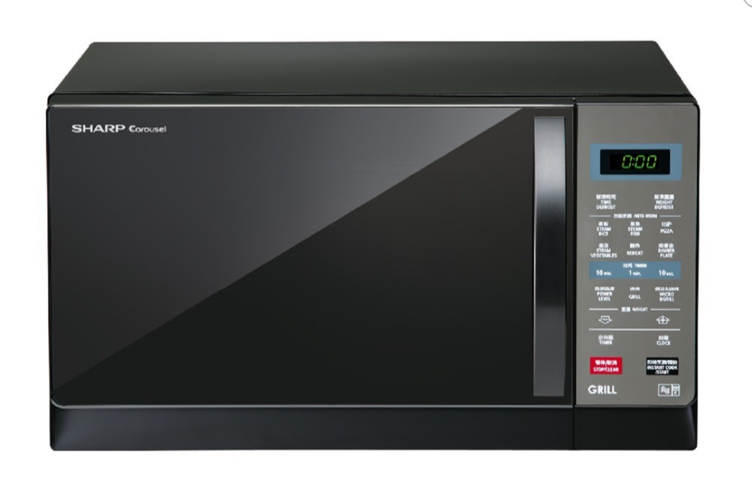 It can bake, reheat, and grill large food quantities: shopjourney