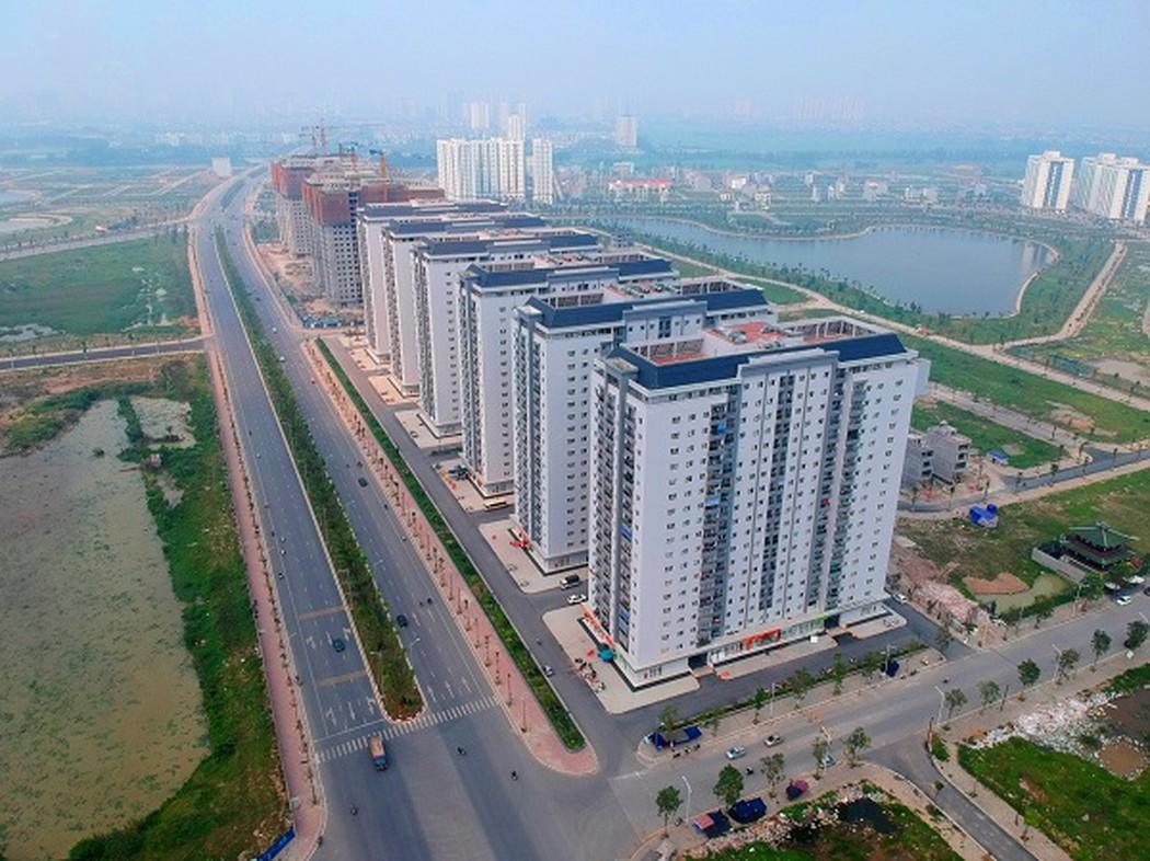 Toàn cảnh khu đô thị Thanh Hà