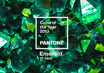Color of the Year 2013: PANTONE 17-5641 Emerald