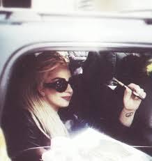 Lady Gaga Vaping