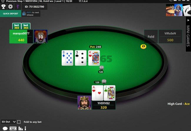 Bet365 игровой стол