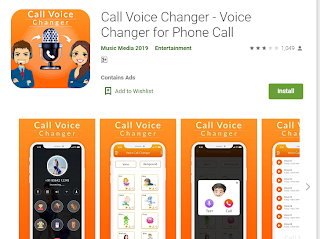magic call male to female voice changer app