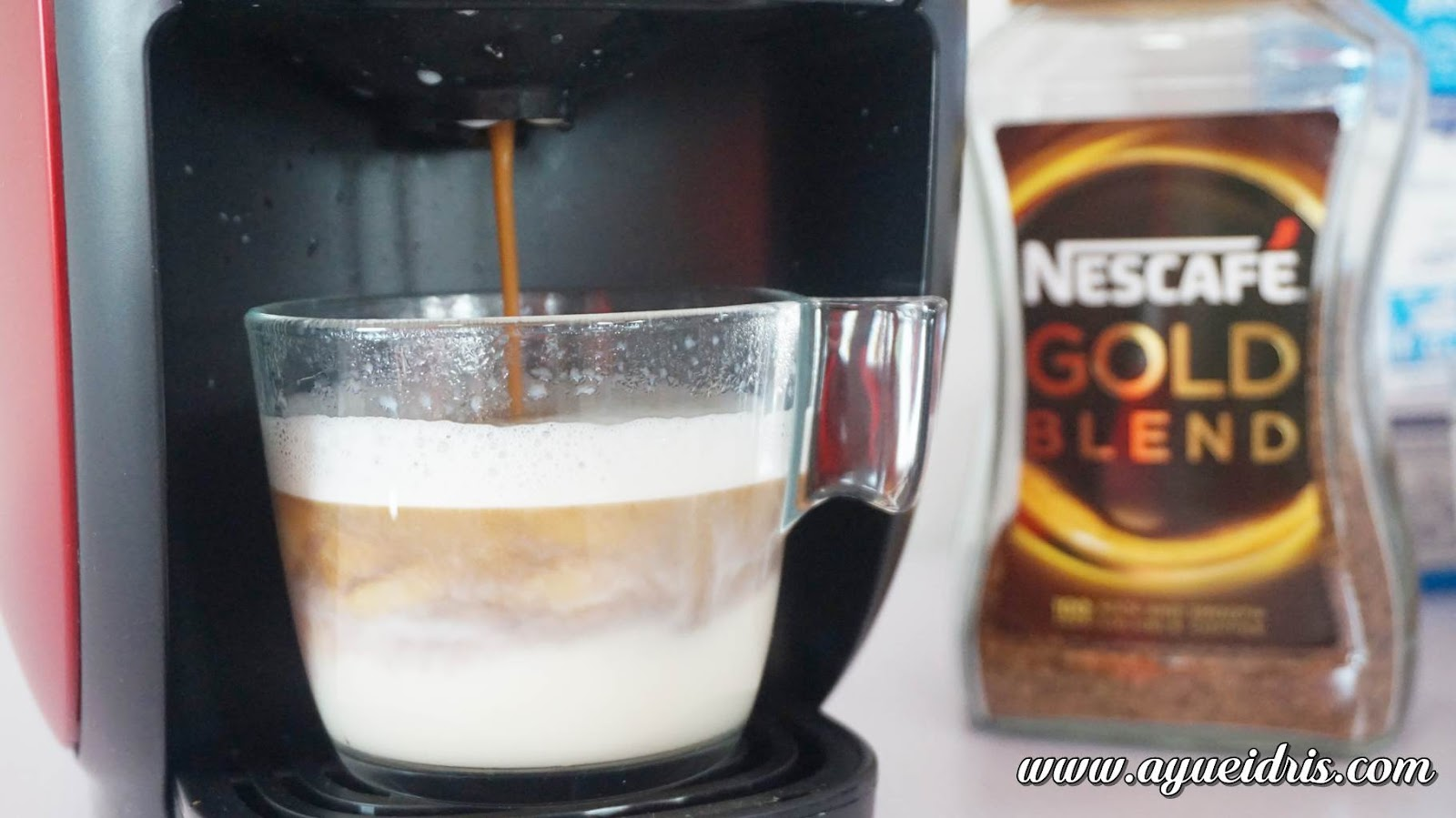 Nescafe Gold Barista Coffee Machine cara guna harga (32).JPG