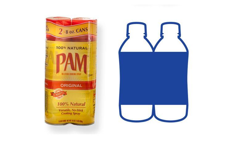 AFM shrink sleeve label multi-pack shrink two products together