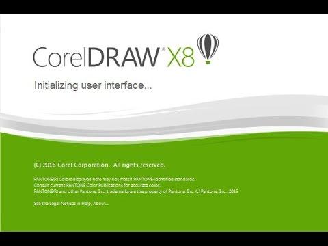 Phiên bản CorelDRAW X8