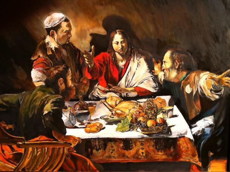 credit line: Caravaggio, Supper at Emmaus, 1601