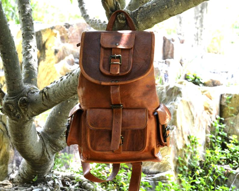 Travel Leather Backpacks