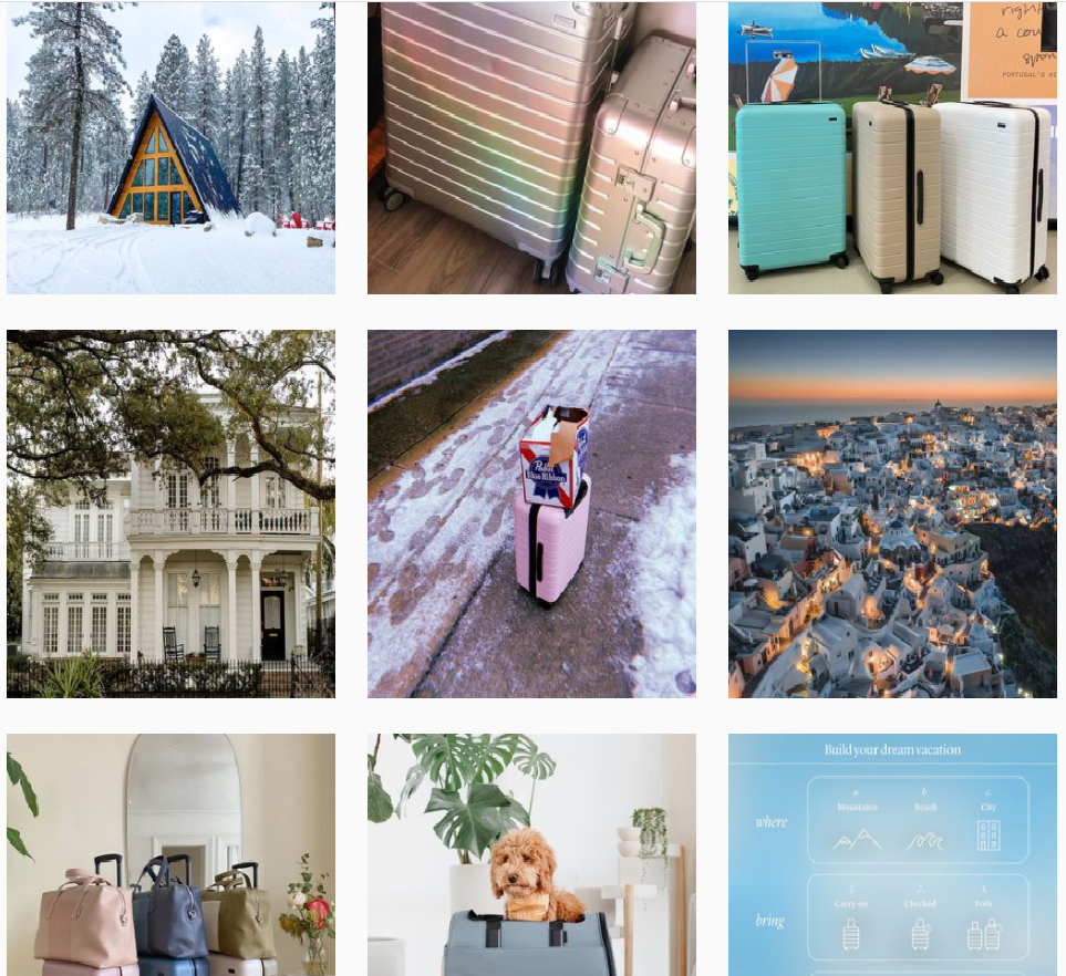 Best brands on Instagram: Away
