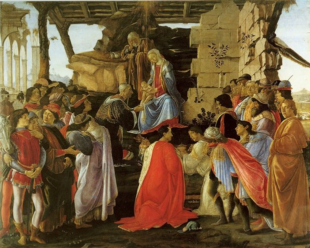 Adoration of the Magi, Botticelli, Uffizi Gallery, Florence.jpeg