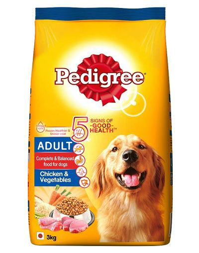 Pedigree Adult Dry Dog Food best dog foods in India